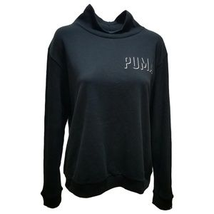 Puma Fushion Turtleneck Sweater Black Xlarge